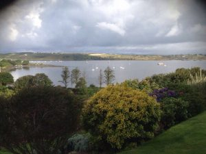 View from Channel View Cottage over Church Strand